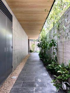 Home Design Decor, Patio Design, Garden Design, House Design, Main Door Design, Entrance Design, Side Yard Landscaping, Corridor Design, Modern Tropical House