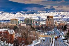 Beautiful Boise Idaho