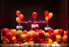 Louis Vuitton et Sofia Coppola : Vitrines Féeriques au Bon Marché