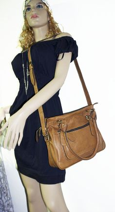 SPECIAL OFFER Genuine leather handbag crossbody by chicleather