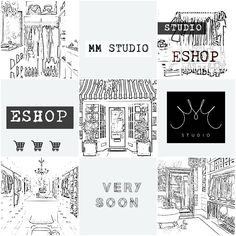 Eshop MM studio very soon! Collection of design jewelry, clothing and accessories, interior decoration. MM