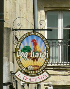 Brasserie Sign