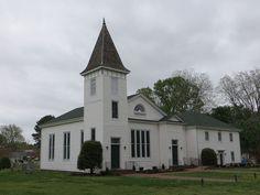 Wesley Chapel United Methodist Church (1893), Chuckatuck, Suffolk, VA.