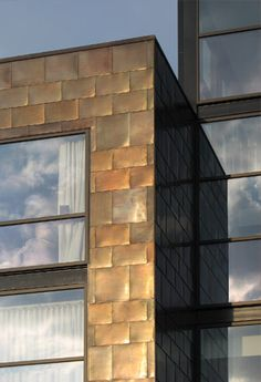 Copper.org: Application Areas: Architecture - copper cladding idea