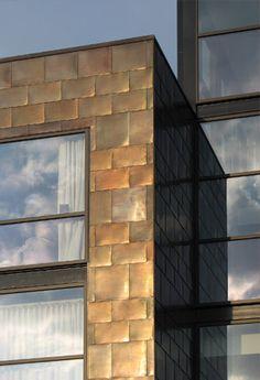 Copper.org: Application Areas: Architecture - copper cladding idea