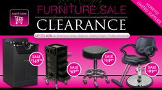 We are currently having a BIG furniture sale, with some of our furniture up to 40% OFF. Shop with us now and save BIG!!  http://salonca.com/clearance