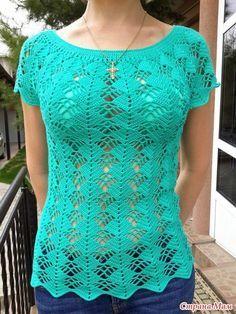 Muy veraniega fresca y bonita y en los recomendados de hoy : moldes de un vestido de motivos en ganchillo