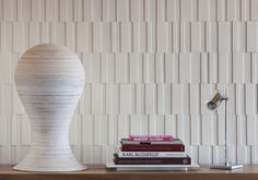 index - wool felt and cork wall covering