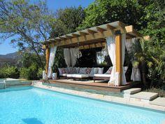 Ideas 10 Backyard Cabana Ideas On Outdoor Cabana :)   For The Home   Pinterest