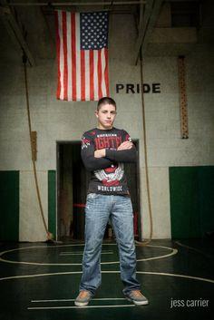 Wrestling Senior Photo