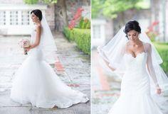 Bride wearing beautiful Tara Keely dress Graydon Hall Manor, Toronto Wedding Photographer, Love Story, One Shoulder Wedding Dress, Brides, Couples, Wedding Dresses, How To Wear, Beautiful