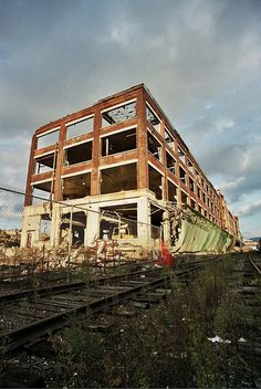 Remnants of General Electric in Pittsfield, Mass.