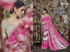 Display a new ethnic look wearing this sumptuous saree, this saree is a must-have in your ethnic wear collection.  #Trends #Summer #Shop #HIMTARA0616