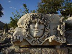 Medusa, Apollon Tapınağı. Didim-Aydın, Türkiye (Medusa, Temple of Apollo. Didyma)