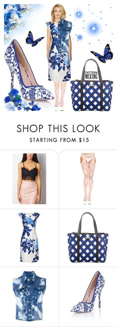 """""""Pattern Mixing Contest!"""" by bevmardesigns ❤ liked on Polyvore featuring Dorothy Perkins, Ultimate, Kate Spade, Dsquared2, Paper Dolls, women, fashionset, womensFashion and patternmixing"""