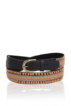 Embellished belt from Antik Batik's FW2013 collection - love it!