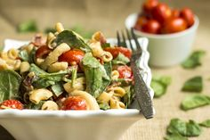 BLT Pasta Salad | Gluten Free with L.B. - definitely going to  make this