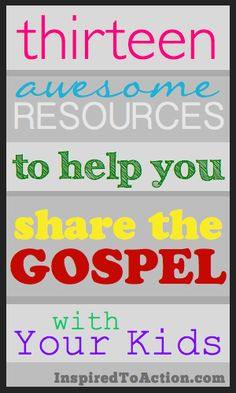13 Awesome Resources to Teach Children About God