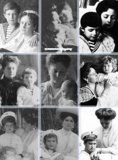 Alexei and his Mother, Alexandra.