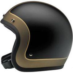 CAPACETE BONANZA - LE TRACKER BLACK/GOLD - LCS Motorparts