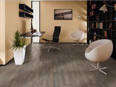 Quickstep Saw Cut Oak Grey Laminate Flooring White Oak Laminate Flooring, White Oak Floors, Solid Wood Flooring, Plank Flooring, Home Design Diy, Luxury Interior Design, Floor Design, Farmhouse Table, Room Interior