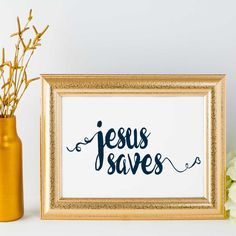 #jesus #saves - design available for prints, mugs, and journals