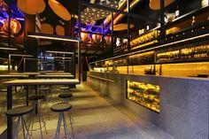 GAZTANDEGI wine and cheese bar by VERNO, Bilbao – Spain