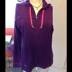 FLASH SALE Under Armour Track Jacket Perfect Running Jacket with Thumb Holes Under Armour Jackets & Coats
