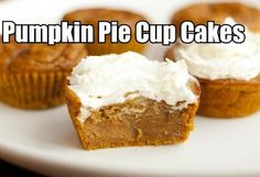 Pumpkin Pie Cup Cakes , Can You Say Wow. You just have to try this wonderful recipe. Just click the photo and come check it out. These cup cakes taste exactly like a delicious pumpkin pie. Nothing could be better