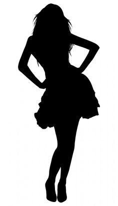 Silhouette Woman Girl Cut - Free image on Pixabay Portrait Silhouette, Couple Silhouette, Girl Silhouette, Silhouette Images, Silhouette Design, Silhouette Cameo, Black Silhouette, Girls Cuts, Belle Photo