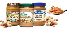 Healthiest peanut/almond butters
