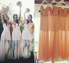 4cc2597a31 Beach Style Bridesmaid Dresses - Wedding and Bridal Inspiration