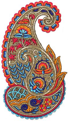 Large Embroidered Paisley Patch with Sequins  http://www.exoticindiaart.com/religious/sfb86.jpg