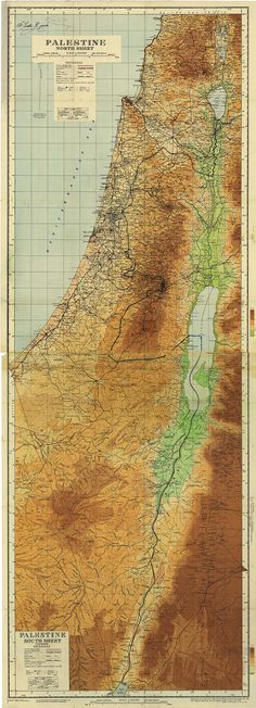 "Palestine 1946 map: Palestine before Israeli 1948 Al Nabka confiscation of land - very rare map gem (despite upper L corner signature by Moshe Dayan!) • 4.4MB 250dpi 87x32cm 34.5x12.5"" 8630x3120px (link since Pinterest allows max 736px w) • ©1946-04 Base Survey Drawing & Photo Process Office • map: http://www.palestineremembered.com/Acre/Maps/Story582.html • Moshe (1915-1981 born from Ukrainian immigrants; Israeli Min. of Def. 1967-74 incl. 6-Day War)…"