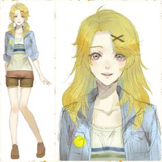 Yoosung is also cute as a girl too! >w<