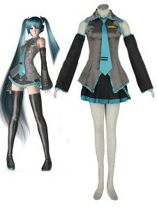 Vocaloid Hatsune Miku Ievan Polkka Cosplay Costume