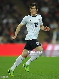 Leighton Baines of England in action during the International Friendly match between England and the Republic of Ireland at Wembley Stadium on May 29...