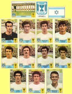 Panini stickers 1970 FIFA World Cup Mexico - Israel squad