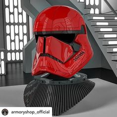 Check out this Red Fury Helmet RePost via Guess what is printing now at full throttle? Yess that's RED Helmet! Many thanks to for sharp eye and inspiration! Stay tuned for progress updates I want to release it asap! Love this bad boy!