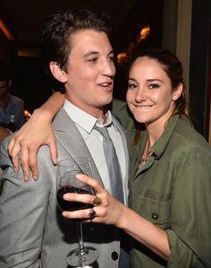 Shailene Woodley and Miles Teller