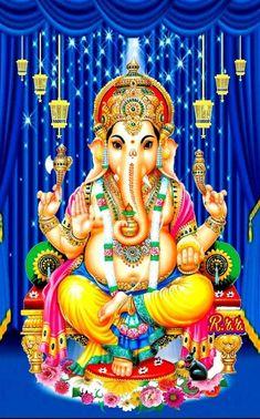Shri Ganesh Images, Ganesha Pictures, Ganesh Wallpaper, Shree Ganesh, Om Sai Ram, Lord Shiva, Wonder Woman, India, Festivals