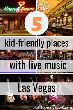 Las Vegas has tons of live entertainment spots, and these are the best kid-friendly venues with live music. Family-friendly restaurants in Vegas with music! Canada Travel, Travel Usa, Italy Travel, Hawaii Travel, Globe Travel, Texas Travel, Travel With Kids, Family Travel, Family Vacations