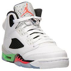 Boys' Grade School Air Jordan 5 Retro Basketball Shoes | Finish Line