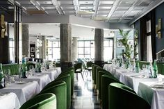 San George Bistro in Amsterdam by Framework | Yellowtrace