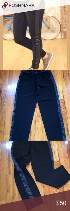 Lululemon Tuxedo Pants Lululemon Tuxedo Pants Size 8 Re-posh they were to big:( Super cute and compfy tho Would trade for a size 6 lululemon athletica Pants Track Pants & Joggers
