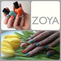 Zoya Nail Polish shared via Instagram @personaclub
