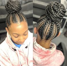 black braided hairstyles Cornrows Braided Hairstyles Beautiful and Trendy African Braids To Try out Feed In Braids Ponytail, Feed In Braids Hairstyles, Braided Ponytail Hairstyles, Natural Hairstyles For Kids, Braided Hairstyles For Black Women, Natural Hair Styles, Short Hair Styles, Girl Hairstyles, Children Hairstyles