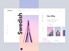 Architecture Firm designed by Arthur K. Connect with them on Dribbble; Web Layout, Layout Design, Website Layout, Ui Patterns, Portfolio Site, Ui Design Inspiration, Landing Page Design, App Design, Email Design
