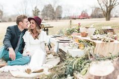 A 'Little House on the Prairie' Inspired Wedding