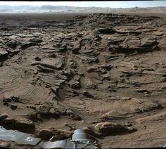 Mars rover crosses most rugged terrain so far 4/28/16 The Curiosity rover has…